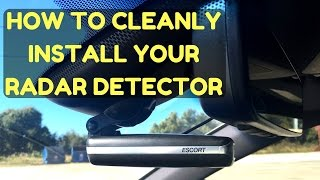 Download How to Install a Radar Detector or Dashcam in Your Car the Easy and Clean Way Video