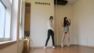 Download 남자 여자 클럽춤 배우기 같은춤 다른느낌 Video
