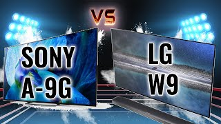 Download 2020 4K OLED Battles: Sony A9G vs LG W9 [Best OLED of 2020?] Video