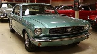Download 1966 Ford Mustang 289 V8 Coupe Video