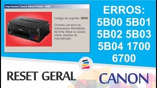 canon MX490 reset Waste ink 5B00 MX715/MX716/MX717/MX718 reset Free