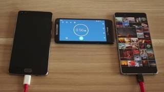 Download Oneplus 3 VS. Nubia Z11 - Battery life & Charge Speed Test Video