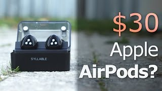 Download $30 Apple Airpods? REVIEW: Syllable D900 Mini Wireless Earbuds! Video