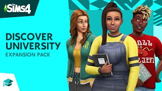 Download The Sims 4™ Discover University: Official Reveal Trailer Video