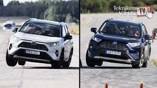 Download The new Toyota RAV4 fails the moose test Video