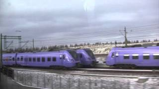 Download Train Journey from Copenhagen (Denmark) to Malmö (Sweden) - 7th January, 2016 Video
