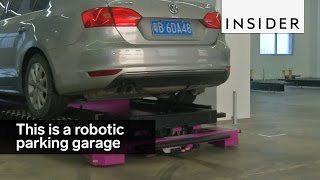 Download This robotic parking garage can place cars in the perfect spot Video