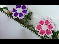 Download Çiçek Motifli Tığ Oyası Yapımı Video
