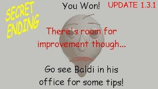 Download Secret Ending (Wrong answers only! ) - Baldi's Basics in Education and Learning v1.3.1 Video