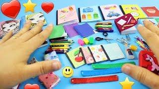 Download Okula Dönüş DIY: 0 Gerçek Minyatür Okul Malzemeleri [GERÇEKTEN ÇALIŞIYOR] Video