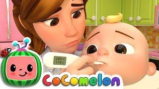 Download Sick Song | CoCoMelon Nursery Rhymes & Kids Songs Video