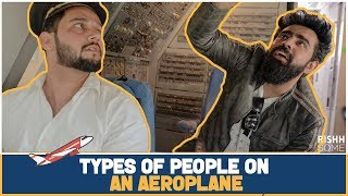 Download TYPES OF PEOPLE ON AN AEROPLANE | RishhSome Video