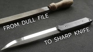 Download Making a Knife from an Old File Video