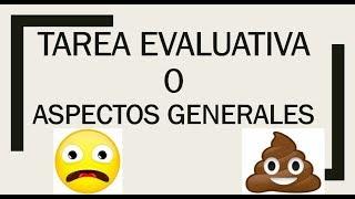 Download Soy Docente: TAREA EVALUATIVA 0 (CONSIDERACIONES GENERALES) Video