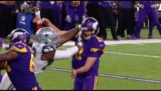 Download Dallas Cowboys beat Minnesota Vikings 17-15! Missed facemask call? Video