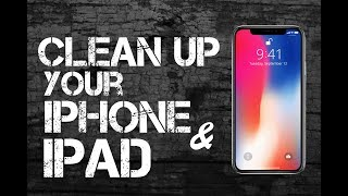 Download Clean Up Your iPhone or iPad IN UNDER 10 MINUTES!!! Video