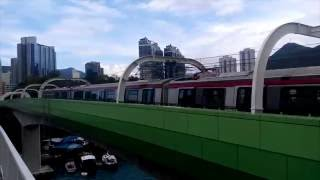 Download MTR South Island Line in Test Video