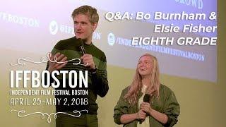 Download Q&A: Bo Burnham & Elsie Fisher on EIGHTH GRADE (IFFBoston 2018) Video