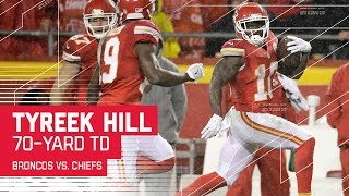 Download Tyreek Hill Explodes Past Defense for 70-yard TD!   Broncos vs. Chiefs   NFL Week 16 Highlights Video