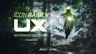 Download ICON Raiden UX - Waterproof Collection Video