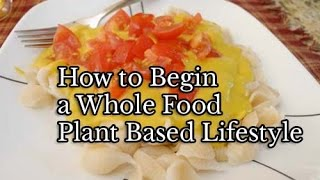 Download How to Begin a Whole Food Plant Based Lifestyle Video