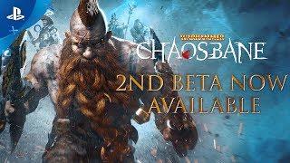 Download Warhammer: Chaosbane – 2nd Beta Launch Trailer   PS4 Video
