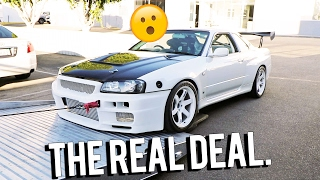 Download I'm selling an R34 GTR Video