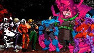 Download KOF Mugen Super KOF Bosses Team VS MARVEL Giant Team Video