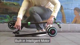 Download Zoom Cruiser - the lightweight hybrid electric scooter Video