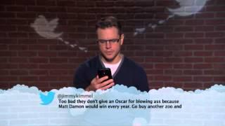 Download Matt Damon MeanTweets Video