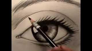 Download Resim Dersi - Gerçek Göz Nasıl Çizilir Video