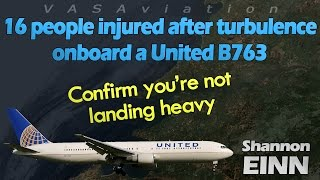 Download [REAL ATC] United B767 HIT BY SEVERE TURBULENCE! Video
