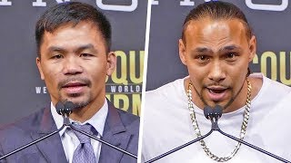 Download Manny Pacquiao vs. Keith Thurman FULL PRESS CONFERENCE | Fox PBC Boxing Video