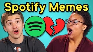 Download ADULTS REACT TO SPOTIFY PLAYLIST MEMES Video