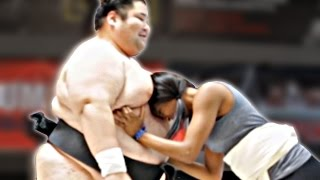 Download Regular People Wrestle Sumo Champions Video