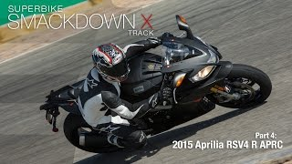 Download 2015 Aprilia RSV4 R APRC - Superbike Smackdown X Part 4 - MotoUSA Video