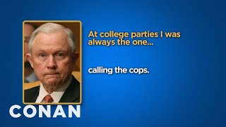 Download Celebrity Survey: Jeff Sessions, Bill Cosby Edition - CONAN on TBS Video