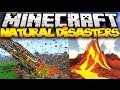 Download Minecraft: NATURAL DISASTERS! (Volcanoes, Meteors, Earthquakes, & MORE!) | Mod Showcase Video