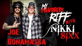 Download My Favorite Riff with Nikki Sixx: Joe Bonamassa Video