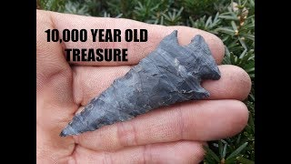Download BIG 10,000 Year Old Amos Arrowhead Archaeology Anthropology History Channel Video