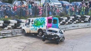 Download Banger Racing Angmering Oval Raceway Caravan Bangers - 30th December 2018 Video