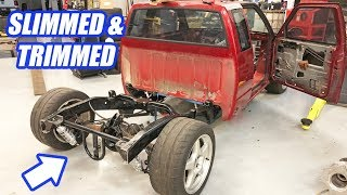 Download The AWD Twin Turbo S10 Leaps Closer To Completion In Building The Ultimate Truck Ep.5 Video