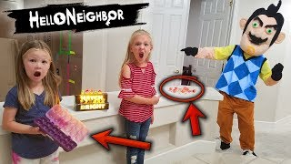Download Hello Neighbor in Real Life! Hatch Bright Hatchimals Colleggtibles Toy Scavenger Hunt!! Video