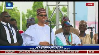 Download Faceoff: President Buhari Watches As Comedian MC Tagwaye Mimics Him Video
