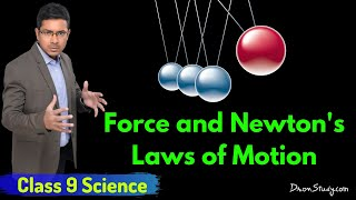 Download Force and Newton's Laws of Motion : CBSE Class 9 IX Science Video