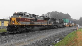 Download NS 231 with Lackawanna hearitage leading Video