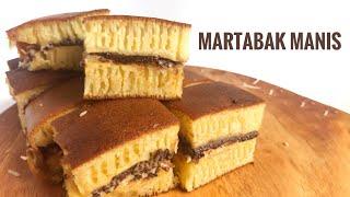 Download Resep MARTABAK MANIS Teflon Bersarang (Tanpa Mixer)   INDONESIAN THICK PANCAKE Video