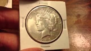 Download Buying Junk Silver Peace Dollars - Looking for Key Dates to Make You Money Video