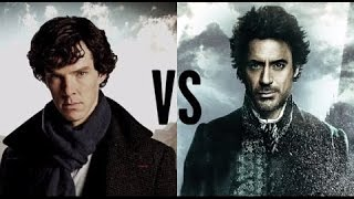 Download Sherlock Holmes : Robert Downey Jr vs Benedict Cumberbatch Video