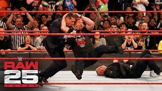 Download ″Stone Cold″ Steve Austin Stuns Shane and Mr. McMahon: Raw 25, Jan. 22, 2018 Video